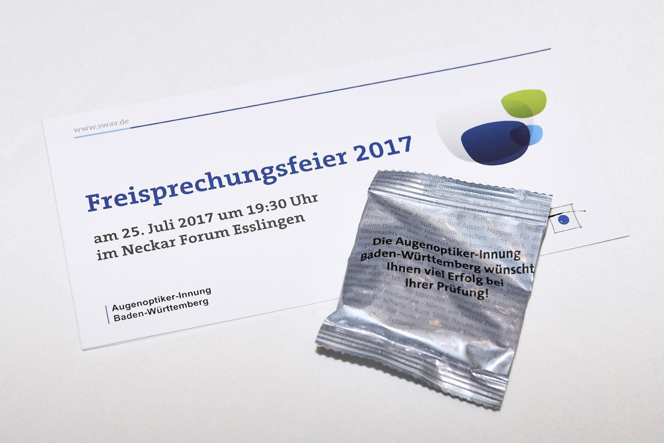 Freisprechungsfeier Leonberg 2017 Das Programm zur Feier