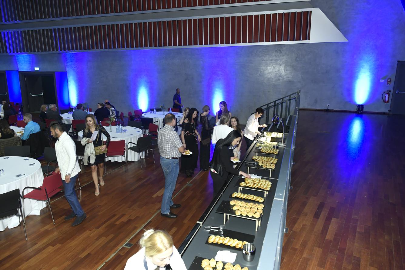 Freisprechungsfeier Leonberg 2017 Das Buffet