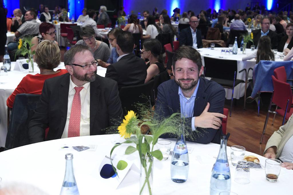 Freisprechungsfeier Leonberg 2017 Bertram Pelkmann und Dr. Stefan Baron