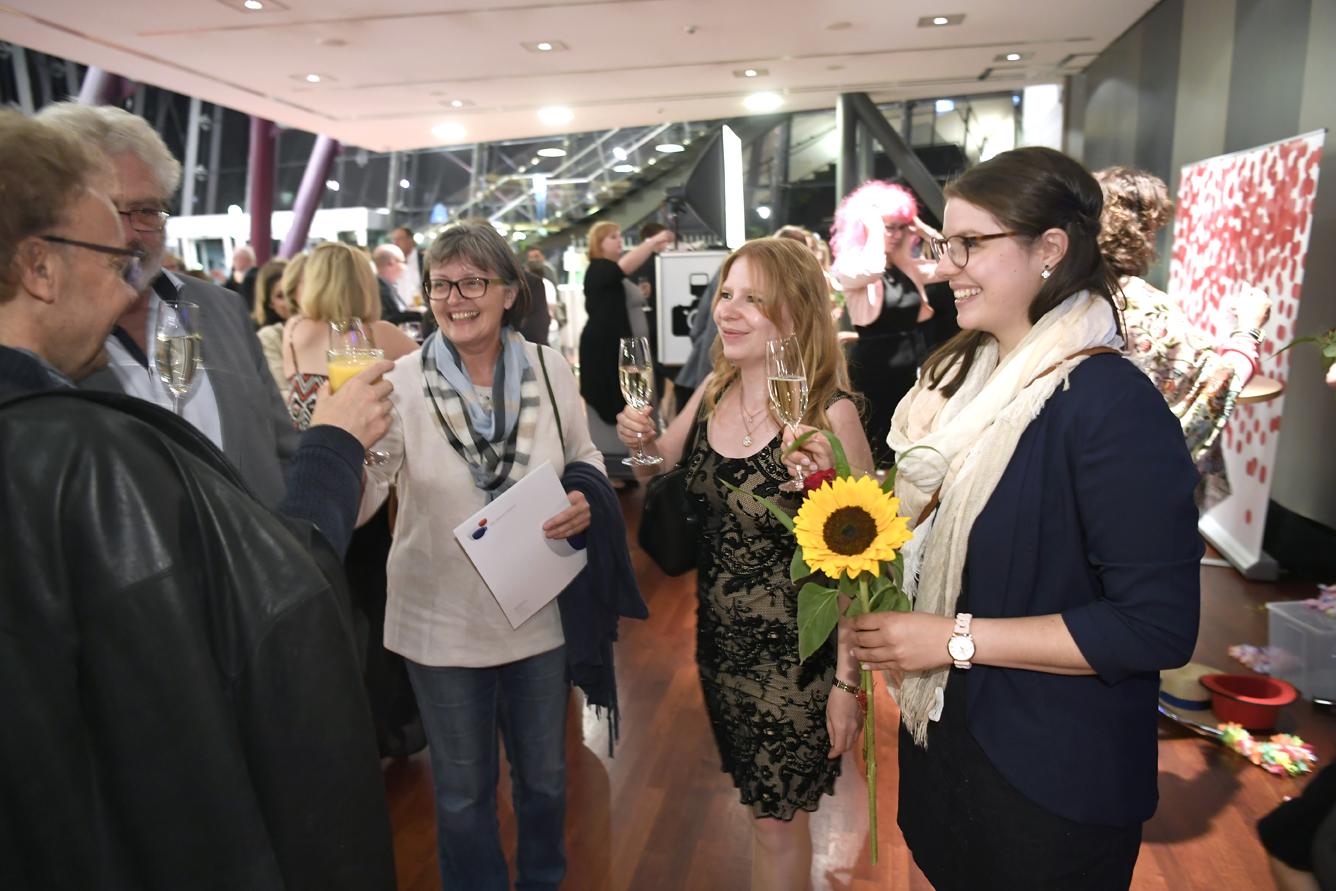Freisprechungsfeier Leonberg 2017 Glas erheben