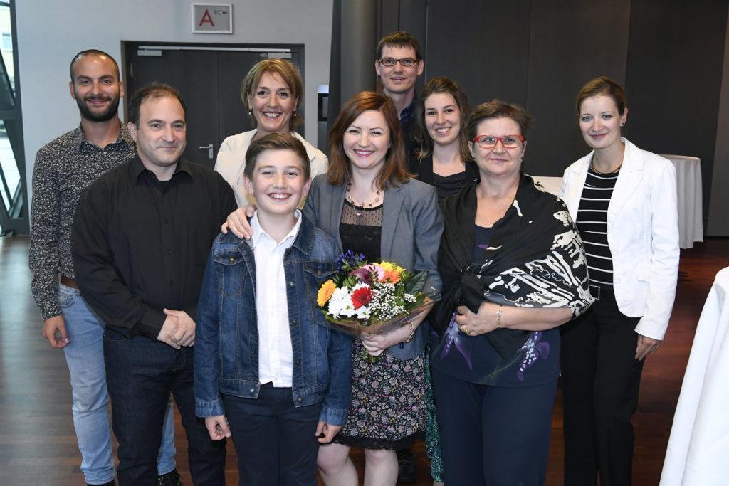 Freisprechungsfeier Leonberg 2017 Großfamilie