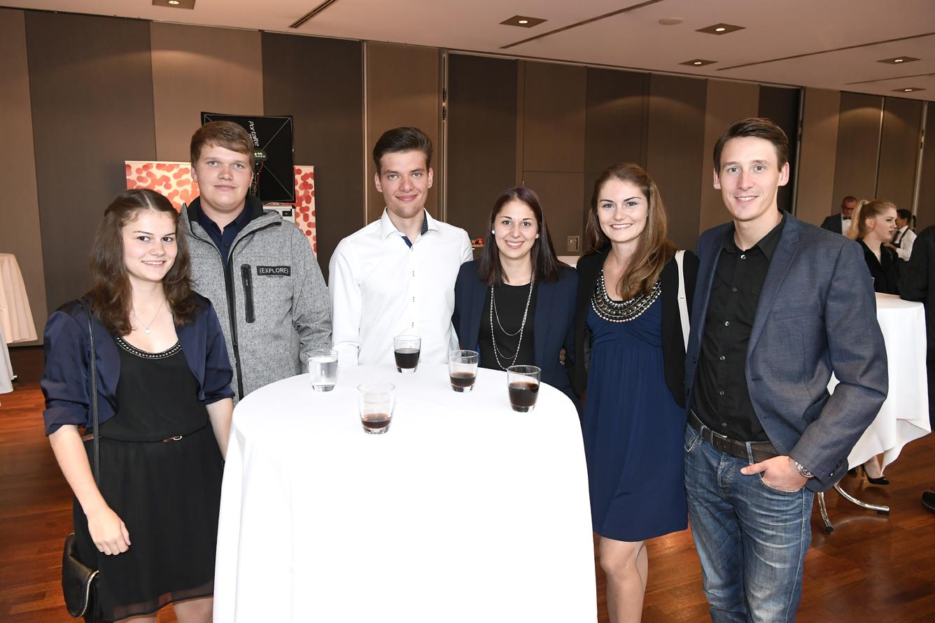 Freisprechungsfeier Leonberg 2017 Junggesellenrunde