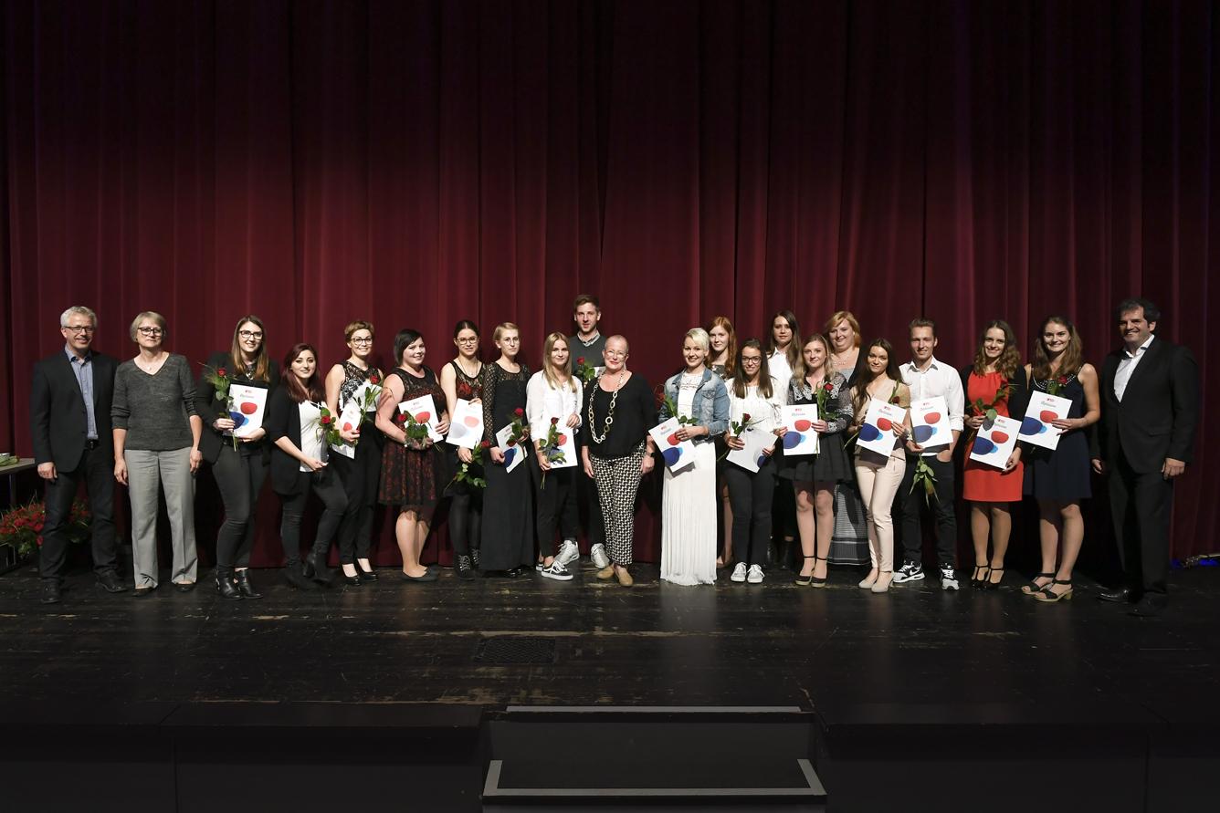 Freisprechungsfeier Leonberg 2017 Klasse 4
