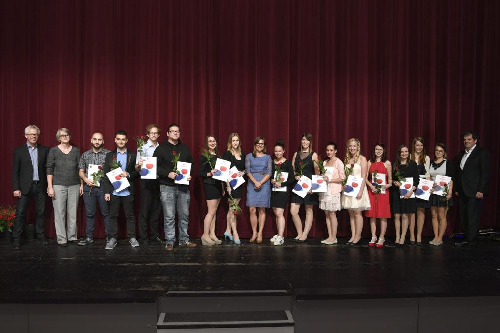 Freisprechungsfeier Leonberg 2017 Klasse 5 - Klassenfoto