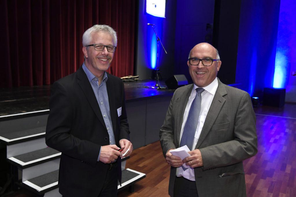 Freisprechungsfeier Leonberg 2017 Matthias Müller und Rainer Neth