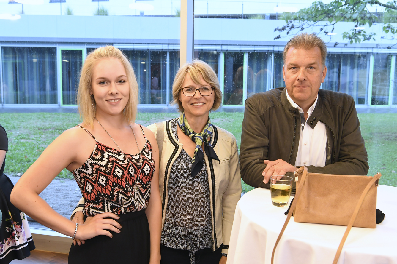 Freisprechungsfeier Leonberg 2017 Stolze Eltern