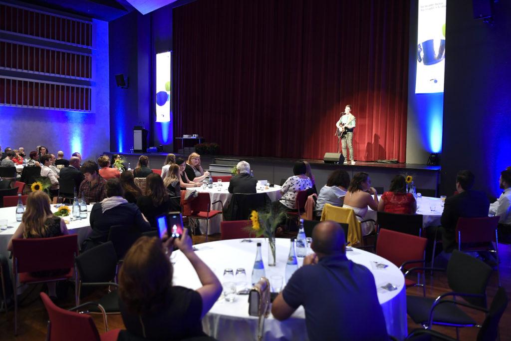 Freisprechungsfeier Leonberg 2017 Marco Pinto von The Voice of Germany
