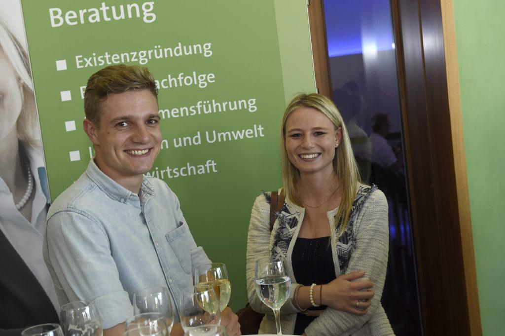 Freisprechungsfeier Stuttgart 2016 Anstoßen