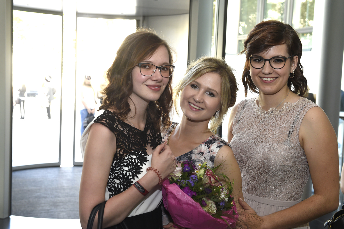 Freisprechungsfeier Stuttgart 2016 Blumen