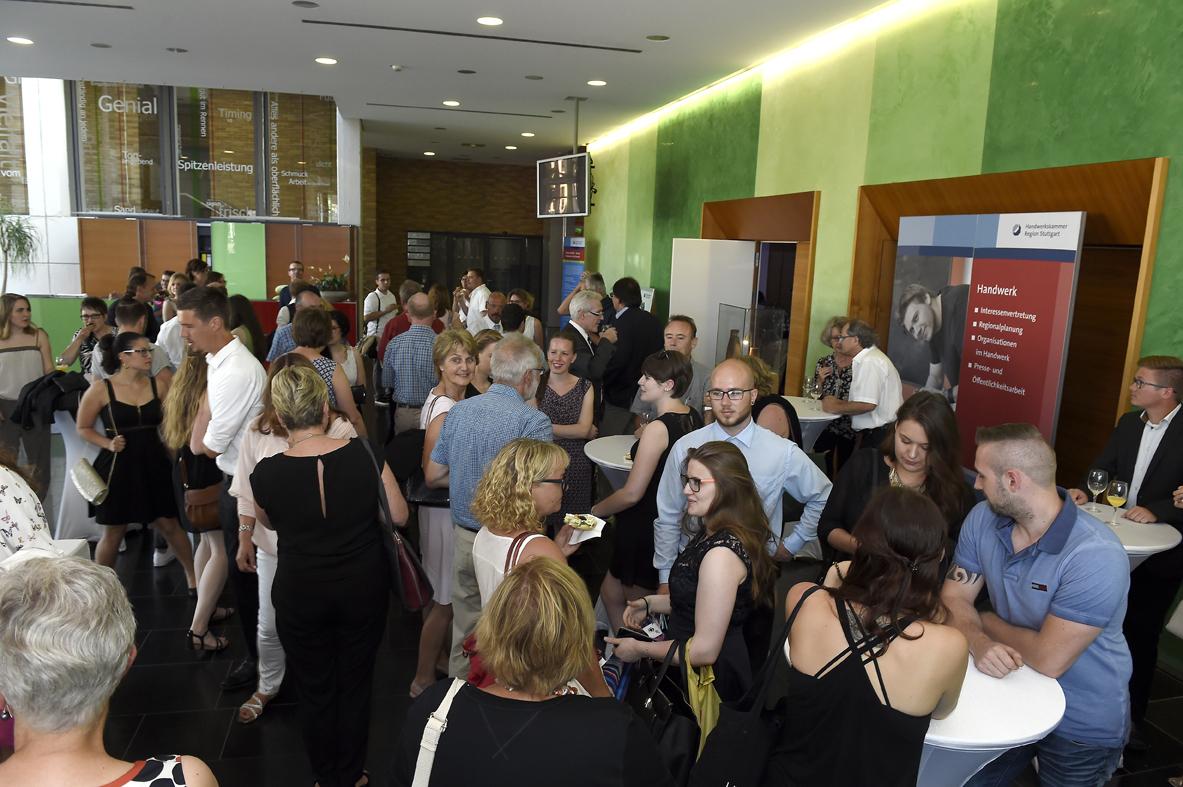 Freisprechungsfeier Stuttgart 2016 Empfang