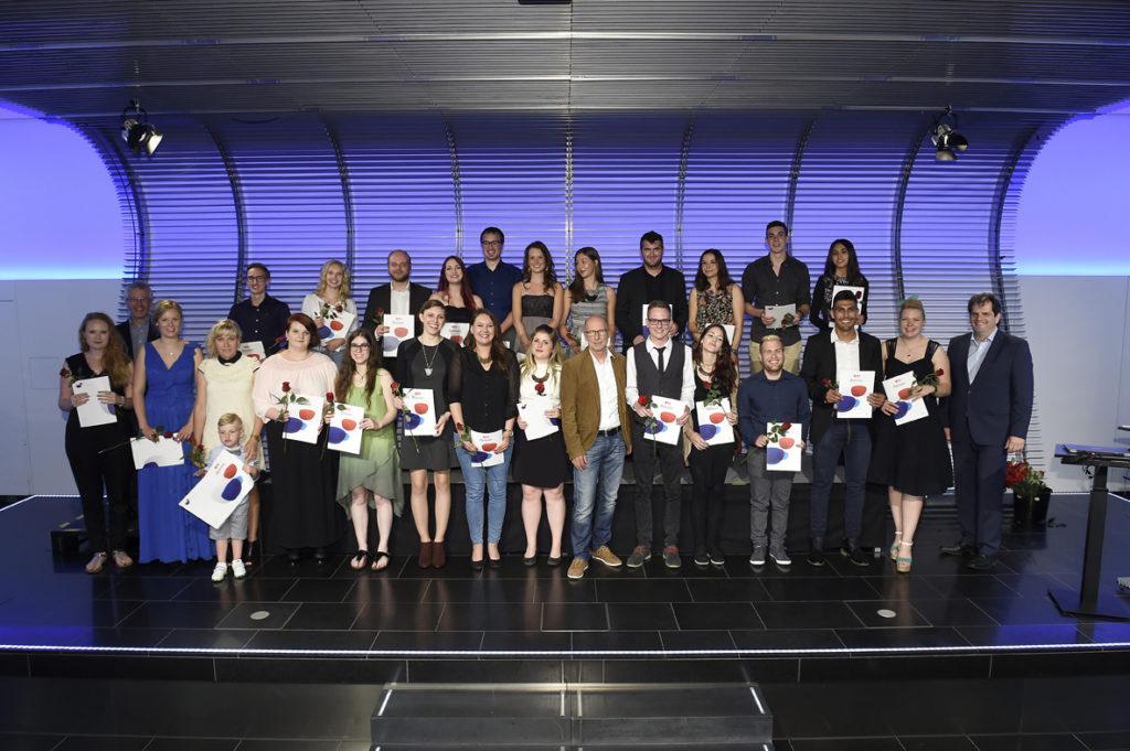Freisprechungsfeier Stuttgart 2016 Klasse 4
