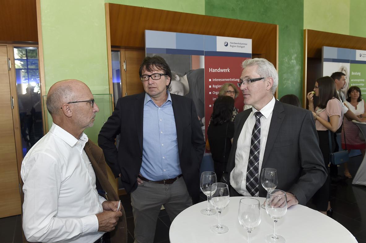 Freisprechungsfeier Stuttgart 2016 Lehrer Berufsschule