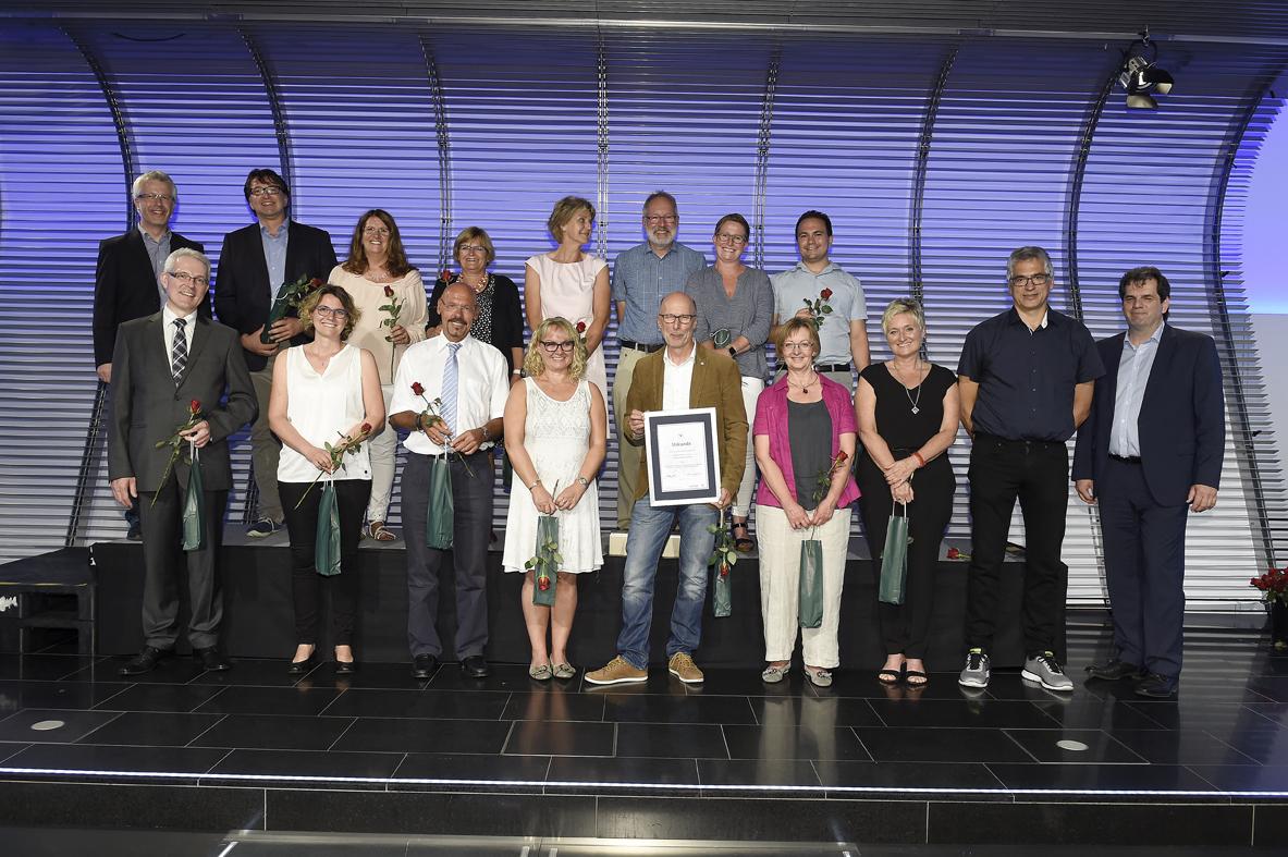 Freisprechungsfeier Stuttgart 2016 Lehrerkollegium Berufsschule Leonberg
