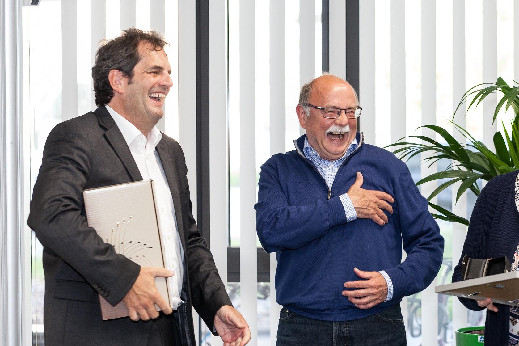 Goldene Ehrennadel für Heinz Schwarz