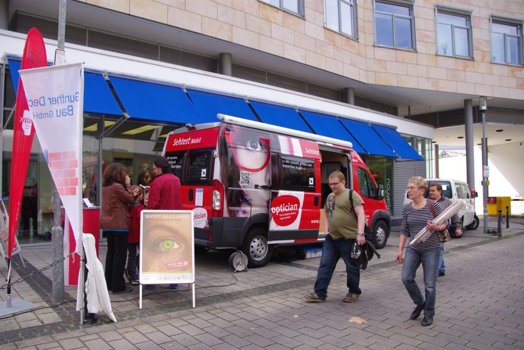 SWAV Sehtest-Mobil 2013 Tag des Handwerks Kaiserslautern