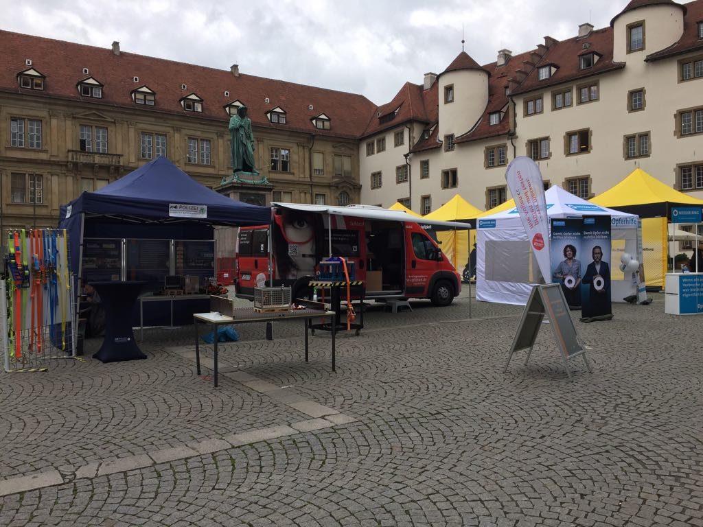 SWAV Sehtest-Mobil 2017 Landestag der Verkehrssicherheit Stuttgart