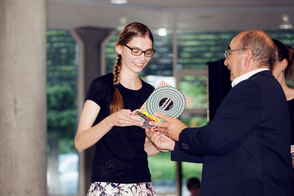 Schulabschlussfeier Bruchsal 2016 Auszeichnung