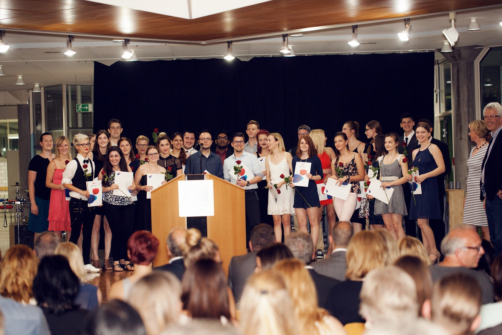 Schulabschlussfeier Bruchsal 2016 Klasse 3