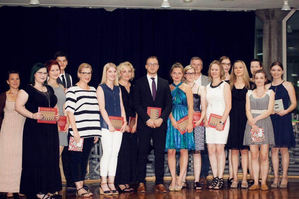 Schulabschlussfeier Bruchsal 2016 Klassenauszeichnung