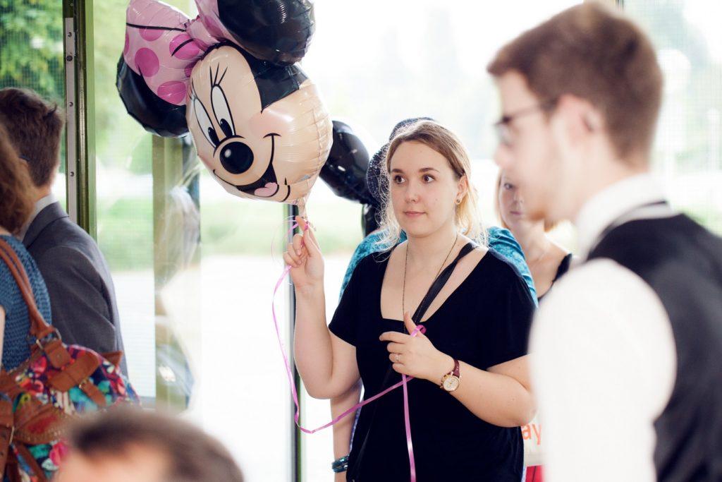 Schulabschlussfeier Bruchsal 2016 Luftballon