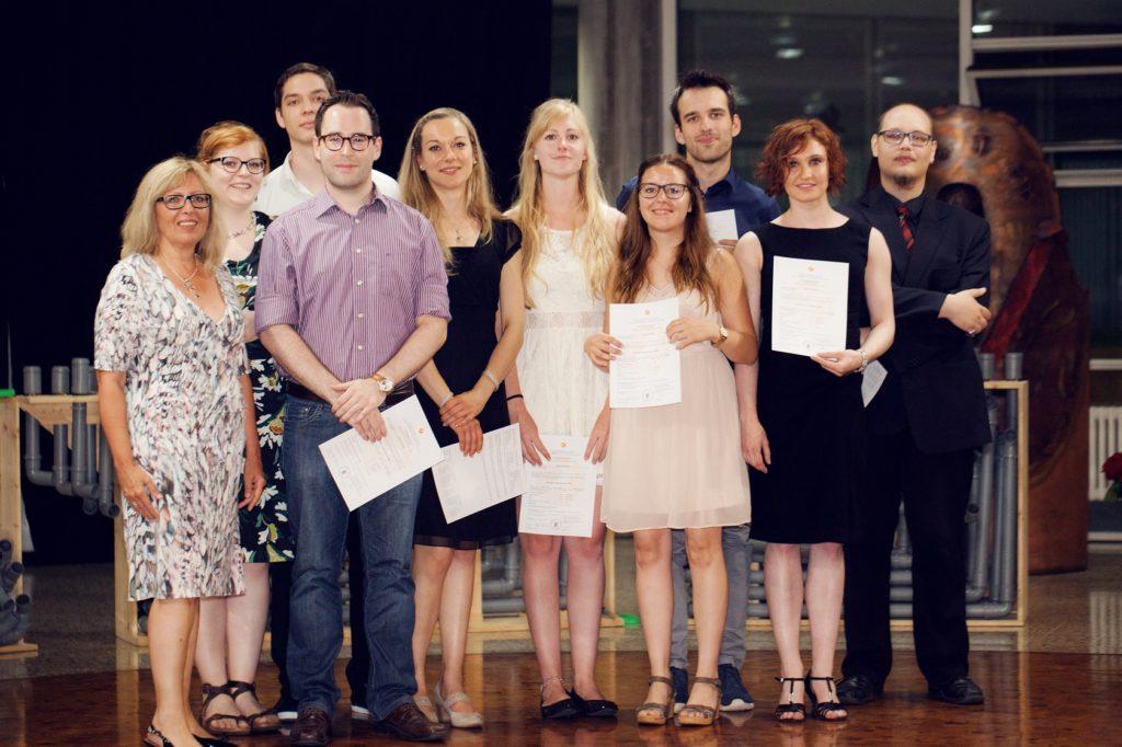 Schulabschlussfeier Bruchsal 2016 MIH-Klasse