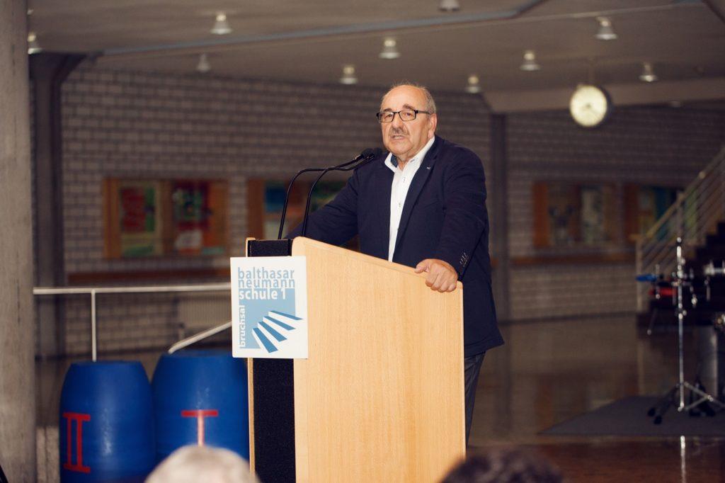 Schulabschlussfeier Bruchsal 2016 Schulleiter Schäffner