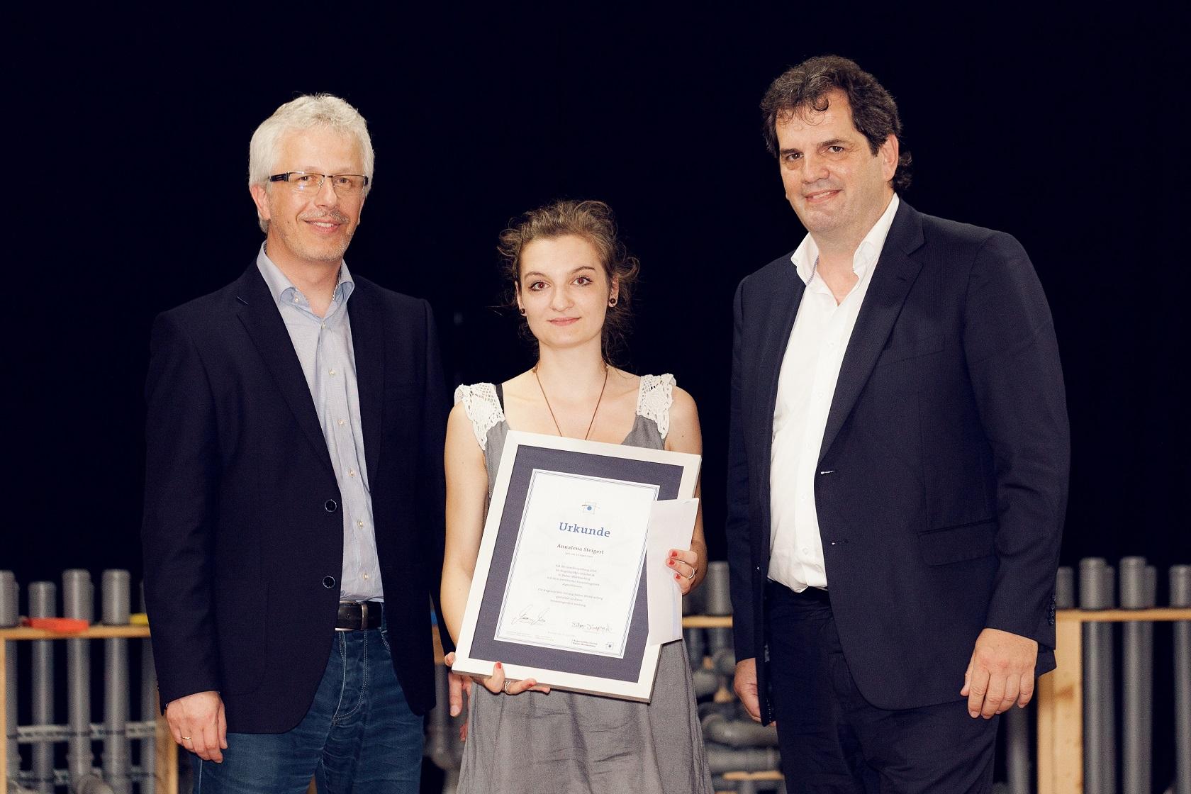 Schulabschlussfeier Bruchsal 2016 Prüfungsbeste