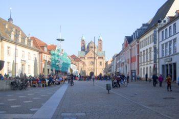 Speyer Blick auf den Dom