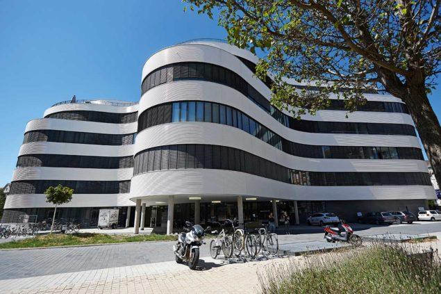 Das Aus- und Weiterbildungszentrum für Augenoptik in Karlsruhe. Foto: Gunther Schmidtheim