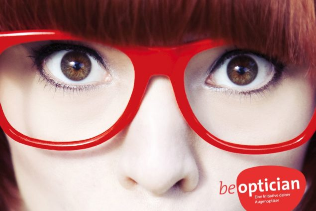 Augenoptiker Ausbildungs-Kampagne be-optician